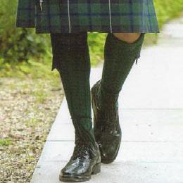 Knitting Pattern For Scottish Kilt Socks : House of Tartan: Hose, Socks, Flashes