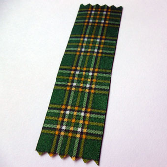 Tartan Ribbon to match all Kilt Hire Tartans, 4 widths.