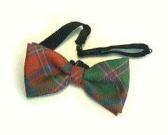 Bow Tie, Mediumweight Tartan, Wool  (Ready Tied)