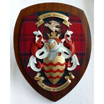 Clan Coat of Arms Wall Shield