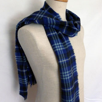 Ladies Scarves in Corporate Tartans