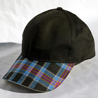 Baseball Caps in Corporate Tartans