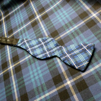 Bow Tie, Self-Ties in Corporate Tartans