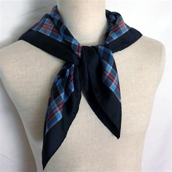 house of tartan squares scarves in corporate tartans
