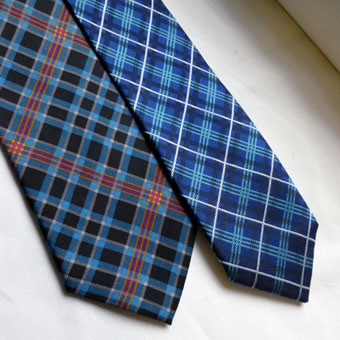 Ties, Neckties in Corporate Tartans