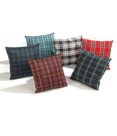 Cushion, Tartan Wool