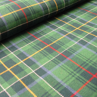 Special Weave, Medium-weight Double Width, Select Tartans