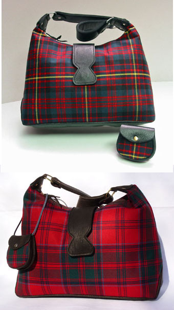 Handbag, Purse. Islay Shoulder Bag (In Your Tartan)