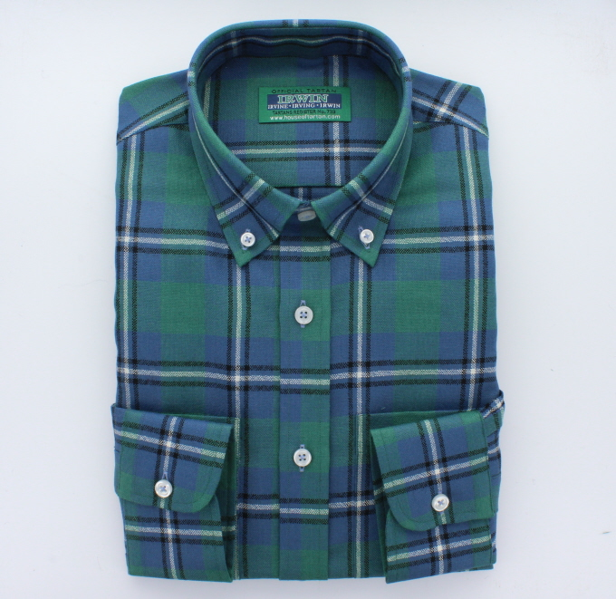Tartan Shirts, Mens, Choice of 600 Tartans