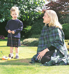 Kilt, Infants Stock Tartan (age 1 - 4)