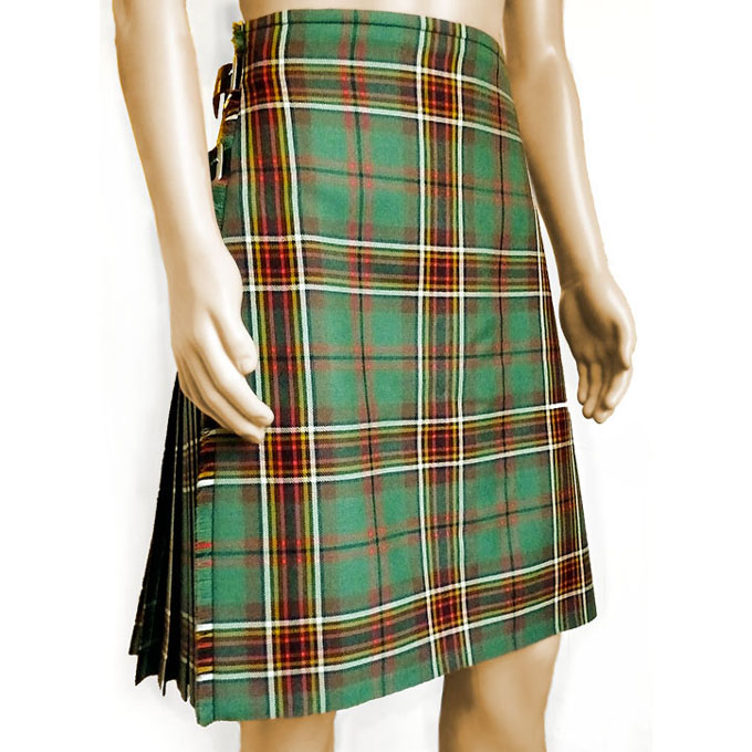 Kilt, Medium Weight, Premium Irish Tartan