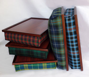 Lap Tray in Corporate Tartans