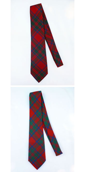 Tie, Necktie, MacIntosh, MacKintosh, Lightweight Wool