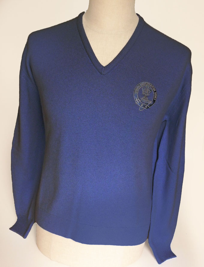 Sweater, Jersey, Mens, Lambswool, Clan Crest