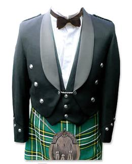 Brian Baru Kilted Formal Dress