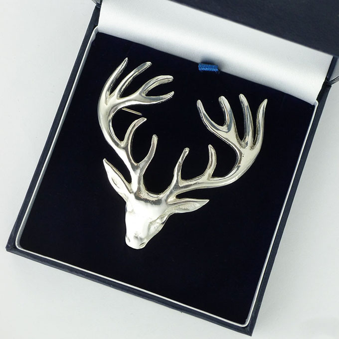 Brooch, Stag