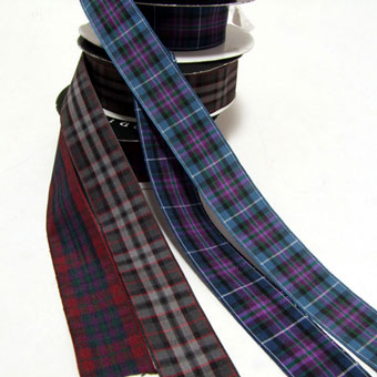 Ribbon, Pride of Scotland, Polyester 25mm