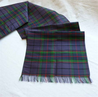 Burns Night, Sash, Tartan Dupion Silk