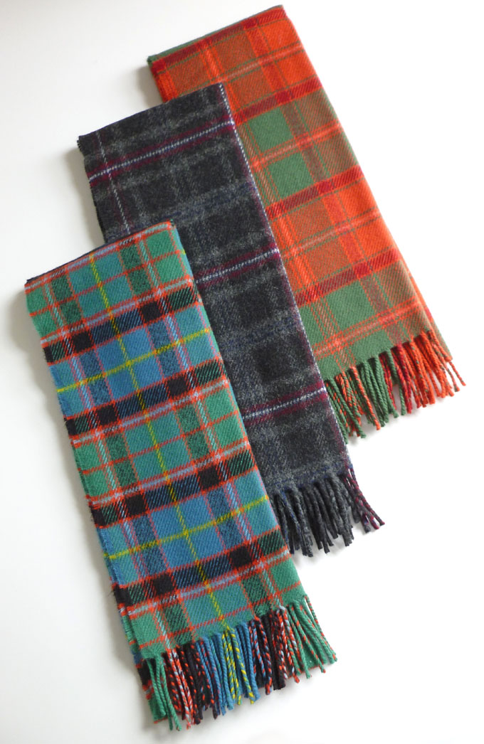 Scarf, Premier Lambswool, DISTRICT Tartans