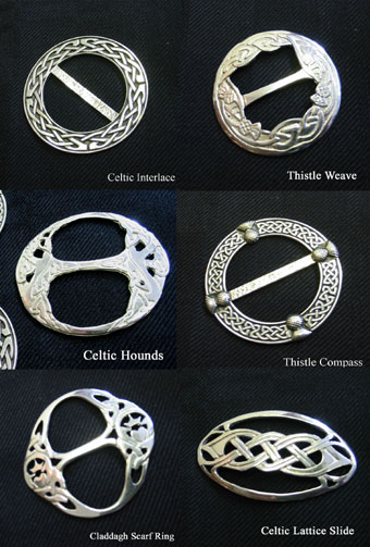 pin house rings itempage of with asp brooch tartan extra ring interlace pewter scarf scottish large