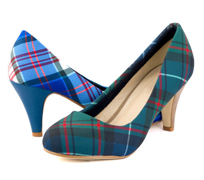 Tartan Wedding Shoes, in ANY Tartan