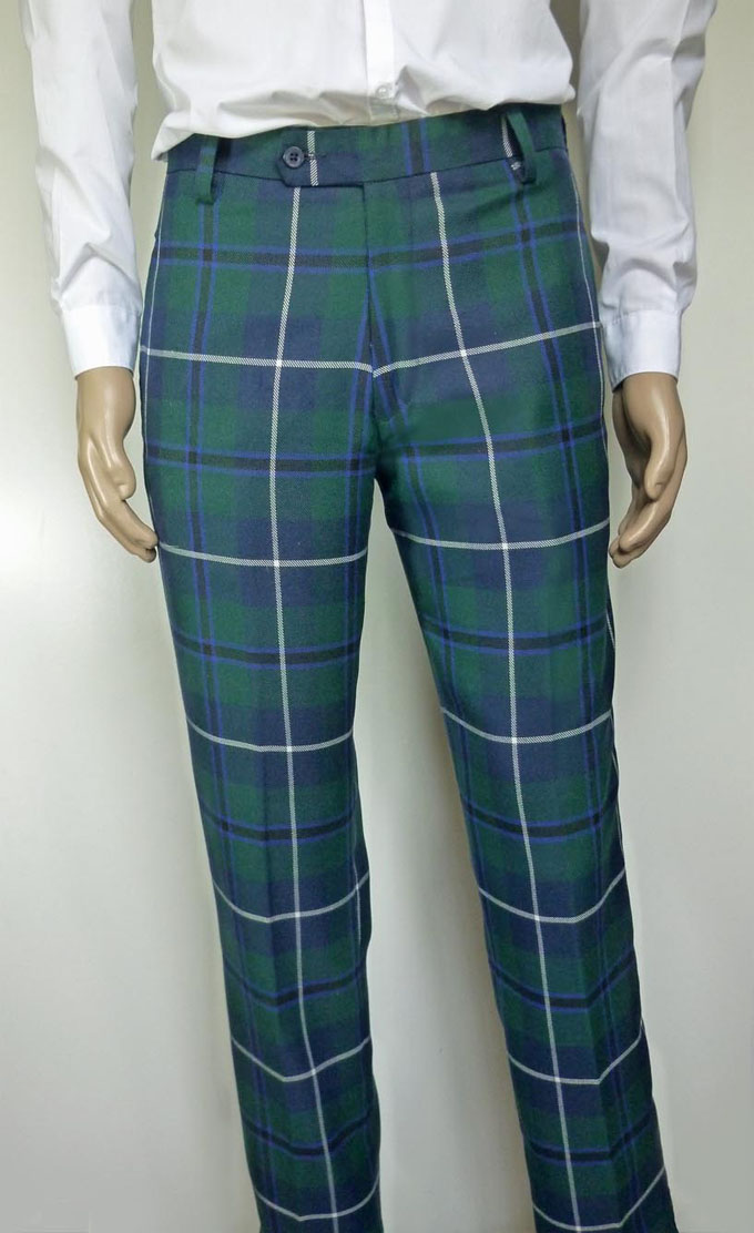 Top House of Tartan: Trousers, Mens Tartan Trousers in 9 Stock Tartans HP29