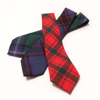 Burns Night, Tie, Necktie, Lightweight Wool Tartan