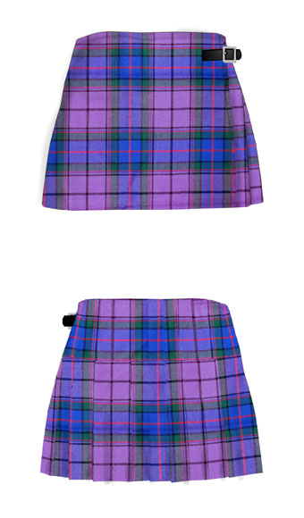 Mini Kilt, Ladies, Tartan Wool