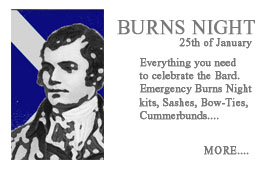 Burns Night  the 'Touch of Tartan' you need for Burns night