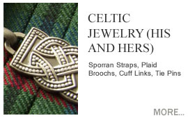 Celtic Jewellery (His and Hers) Luckenbooth Brooches, Celtic Rings, Celtic Collarettes, Celtic Earings