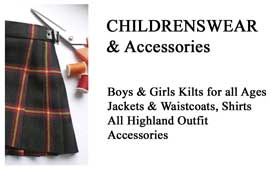 Children's Wear, Kilts & Accessories Kilts, Children's Kilt Outfits