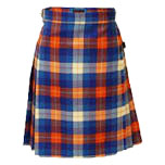 Ladies Skirts Kilts and Clothing