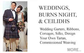 Weddings, Burns Night, Ceilidhs & Memorials Wedding Garters